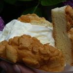 世界で2番めにおいしい焼きたてメロンパンアイス - メロンパンアイス(350円)