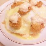 キッチン すぎの実 - ハントン サラダスープ付(700円)