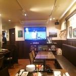 三角山ベース - 60インチTV