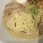 一風堂 - あっさり豚骨 白丸元味 ※麺は細麺