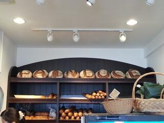 パンデュース - パンでお店の名前が書かれています