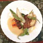 ブラッスリーぺルル - Aランチ 1500円 の黒ムツのポワレ 新生姜風味のブールブランソース