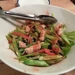 クレイジーピッグス - ミノの春野菜サラダ