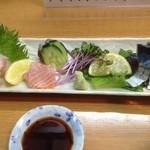 魚彩 銀の鯛 - 刺身盛り合わせ