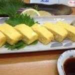 魚彩 銀の鯛 - 出汁巻き~