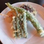 天ぷら豊樹 - 野菜天1