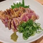 あづま - 大山地鶏ひねタタキ