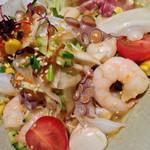 Sakanaryourisemmontotoichi - 海鮮サラダ