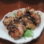炭鶏家みどり - 柚子味噌の西京焼き風