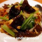 龍厨房 - 豚肉と木耳の玉子炒め