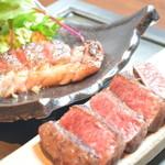京ちゃばな 北新地 ほっこりほっこり - 京都丹波牛いちぼのステーキ