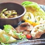 京ちゃばな 北新地 ほっこりほっこり - 焼き野菜の盛合せ