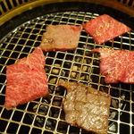 カルビ一丁 - 和牛特上ロース(タレ) 1500円(税抜)