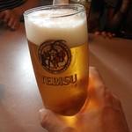 BIG KAHUNA - ドリンク写真:まずは生ビールで乾杯~♪