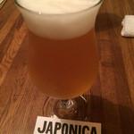 JAPONICA - 志賀高原ビール 生(S¥600)
