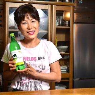 韓国の調理師免許を持つ、本格的な韓国の料理人