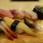 築地ビッグ寿司 - 特選にぎり(2014年6月)