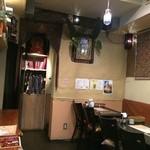 インドレストラン Shama - 意外にこじんまりとした店内♫