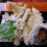 石の森 - 江戸前天せいろの天ぷら
