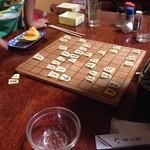 紀八 - 小上がりには将棋が3セットある。将棋を楽しみながら飲めちゃいます。