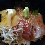 しちせ - ミニ海鮮丼