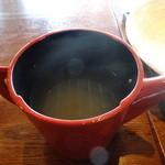 しちせ - 蕎麦湯