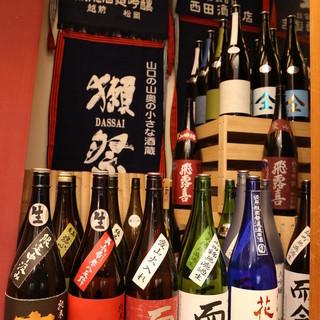 全国旬な銘酒、思わず自慢したくなる品々をご用意しております。