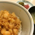 天ぷら新宿つな八 - かきあげ
