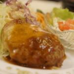 神谷バー - チーズハンバーグステーキ