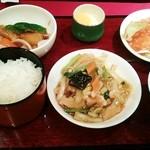 chuugokuryourichimmin - 池田ランチ1,380円♪