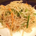 草原之家 - 中華豆腐と野菜の千切り炒め☺︎