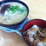 博多金龍 - ラーメンとスタミナ丼