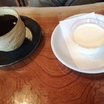 mure - 牛乳プリンと珈琲