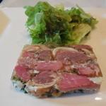 レストラン マコト - 豚肉のテリーヌ