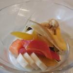 レストラン マコト - いろいろ野菜の自家製ピクルス