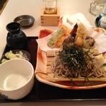 そば 小料理 凛 - 天ざる ¥1140