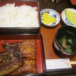 小坂鯉店 - 2014/6 うな重定食・上