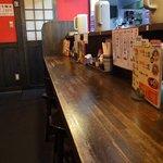 紀州和歌山ラーメン きぶんや - 店内の様子です