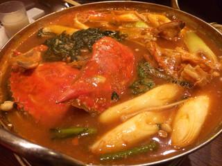 鳳仙花 - カニ鍋