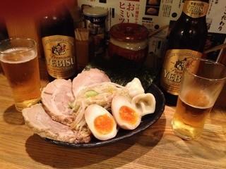 つけ麺屋 やすべえ 赤坂店 - トッピング