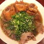 皇蘭 - チャーシュー豚カツラーメン