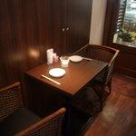 四川料理 慶 - ゆったりシートとキャンドルで