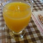 アンティーク・カフェ - オレンジジュース