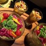 野菜家さい - 野菜ソムリエサラダ