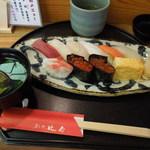 28651010 - 北斎ランチ禄(ろく)(1080円)