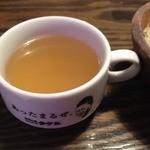 1ポンドのステーキハンバーグ タケル 上新庄店 - スープ