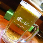 味よし 焼鳥 - ホッピー(白)453円