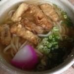 ドライブイン 山福 - 料理写真:ごぼう天うどん ¥450