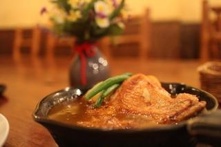 アルペンジロー 本店 - 若鶏カレー