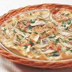 ピッツェリア - エリンギ茸とベーコンの和風しょうゆ